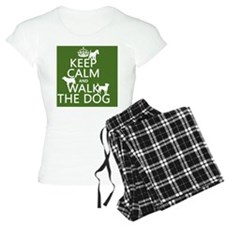 Keep Calm and Walk The Dog Pajamas