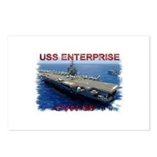 USS Enterprise Postcards (Package of 8)