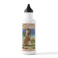 Art Nouveau Rabbit Water Bottle