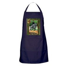 Swedish Warmblood Dressage Christmas Apron (dark)
