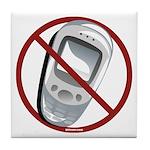Anti-Cellphone Tile Coaster