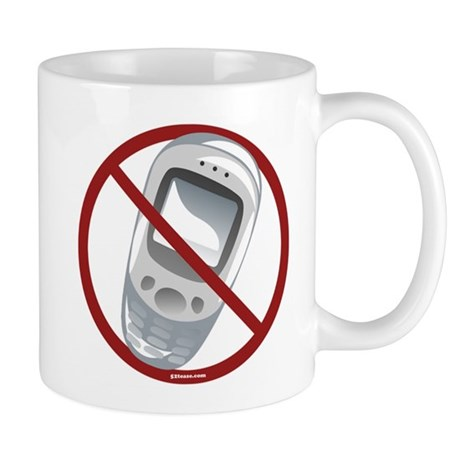 Anti-Cellphone Mug