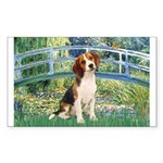 Bridge & Beagle Sticker (Rectangle)