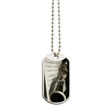 Clarinet and Music band Journal Dog Tags