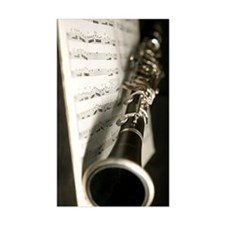 Clarinet and Music band Journa Decal