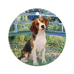 Bridge & Beagle Ornament (Round)