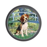 Bridge & Beagle Wall Clock
