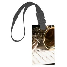 Sax Saxophone Music and Band Pho Luggage Tag