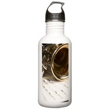 Sax Music and Notes iP Water Bottle