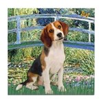 Bridge & Beagle Tile Coaster