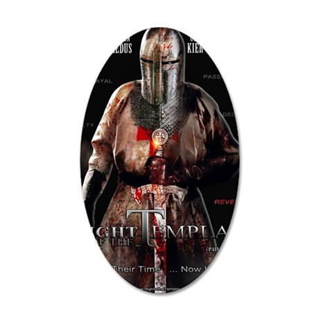 16x20 NO BATTLE with Tag NO  35x21 Oval Wall Decal