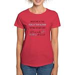 Inner Thin Woman Women's Red T-Shirt