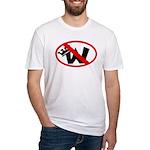 Slash Through King W (Fitted T-Shirt)
