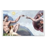 Creation of the Beagle Sticker (Rectangle)