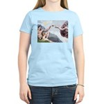 Creation of the Beagle Women's Light T-Shirt