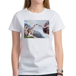 Creation of the Beagle Women's T-Shirt