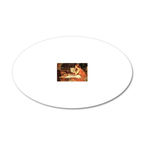 The Sorceress 20x12 Oval Wall Decal