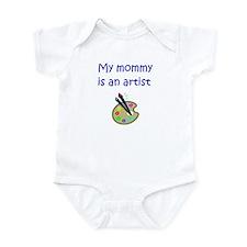 My Mommy Is An Artist Onesie