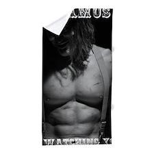 Shamus is Watching You Full Body Poste Beach Towel