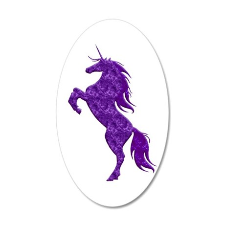 Purple Unicorn Wall Decal