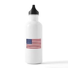 US Flag large Water Bottle