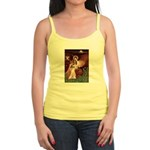 Seated Angel & Basset Jr. Spaghetti Tank