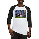 Starry / Basset Hound Baseball Jersey