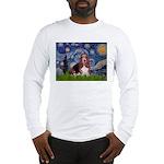 Starry / Basset Hound Long Sleeve T-Shirt