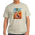 Room with a Basset Light T-Shirt