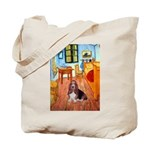 Room with a Basset Tote Bag