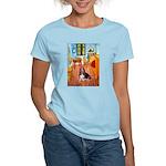 Room with a Basset Women's Light T-Shirt
