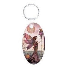 The Golden Dragon Fairy Fan Keychains