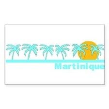 Martinique Rectangle Decal