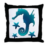 Seastars Throw Pillow