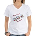 Holy Craps! Women's V-Neck T-Shirt
