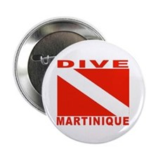 "Dive Martinique 2.25"" Button (10 pack)"