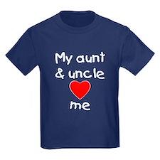 My aunt & uncle love me T