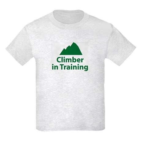 Climber in Training Kids T-Shirt