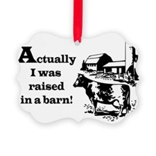 Barn Raised Ornament