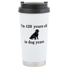 60 birthday dog years l Travel Mug