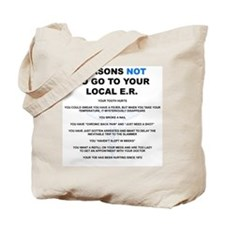Emergency Department Tote Bag