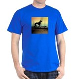 Saluki Dog Desert T-Shirt