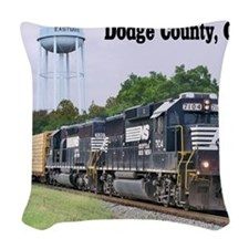 Eastman, Georgia Woven Throw Pillow