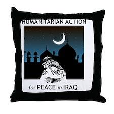 Put Iraq Back on the Agenda Throw Pillow