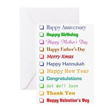 The All-In-One Greeting Card (Pk of 10) Greeting C