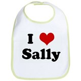 I Love Sally Bib