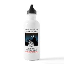 Peace in Iraq Water Bottle