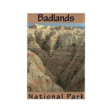 Badlands National Park (Verti Rectangle Magnet