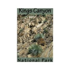 Kings Canyon NP Rectangle Magnet (100 pack)