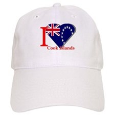 I love Cook Islands Baseball Cap